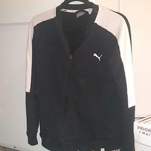 Puma track suit top (L)